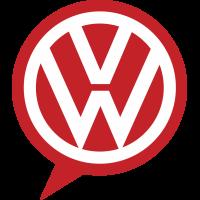 Autocollant Volkswagen Logo Bulle