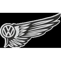 Autocollant Volkswagen Wings