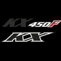 Autocollant Kawasaki Kx 450f