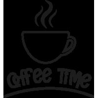 Sticker Mural Coffee Time 3