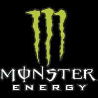 Autocollant Monster Energy Vert
