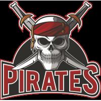 Autocollant Pirate Skull