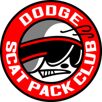 Autocollant Dodge Scat Pack