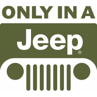 Autocollant Jeep Only