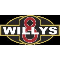 Autocollant Jeep Willys