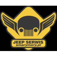 Autocollant Jeep Serwis