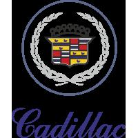 Autocollant Cadillac Bleu