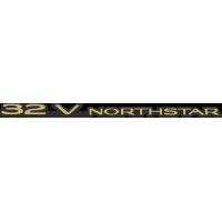 Autocollant Cadillac 32v Northstar