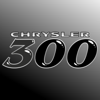 Autocollant Chrysler 300