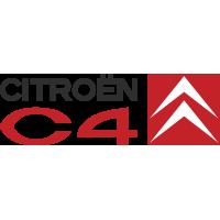 Autocollant Citroen C4 Logo