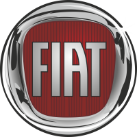 Autocollant Fiat Rectangle