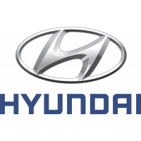 Autocollant Hyundai Logo 1