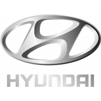 Autocollant Hyundai Logo Gris