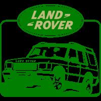 Autocollant Land Rover