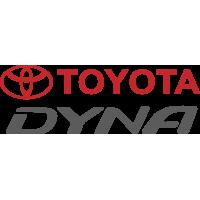 Autocollant Toyota Dyna