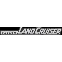 Autocollant Toyota Land Cruiser