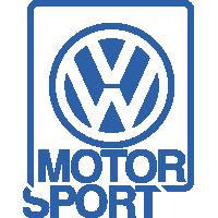 Autocollant Volkswagen Motorsport