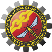 Autocollant Vespa Club Navarra