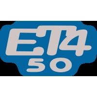 Autocollant Vespa Eta50