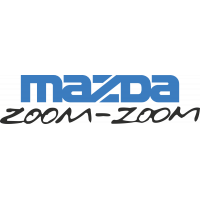 Autocollant Mazda Zoom Zoom