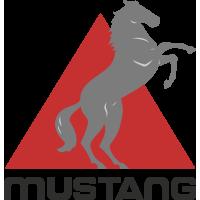 Autocollant Mustang Logo 4