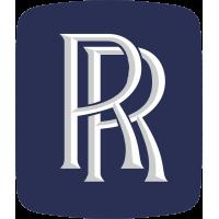 Autocollant Rolls Royce Logo