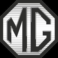Autocollant Mg Logo