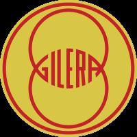 Autocollant Gilera Rond Logo