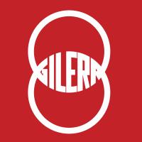 Autocollant Gilera Carré Logo