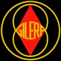Autocollant Gilera 175 Regolarita