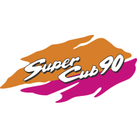 Autocollant Honda Moto Super Cub 90