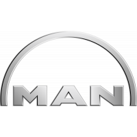 Autocollant Man Logo 2