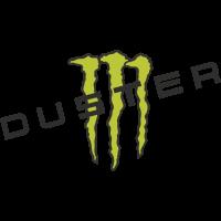 Autocollant Logo Dacia Monster