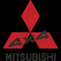 Autocollant Mitsubishi 4x4