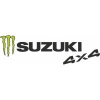 Autocollant Suzuki Monster