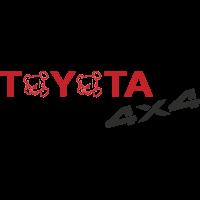 Autocollant Toyota 4x4