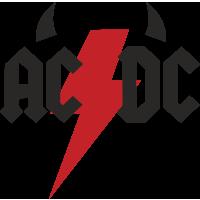 Autocollants Acdc Devil