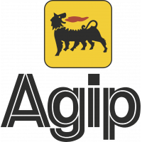 Autocollants Agip Logo