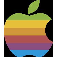 Autocollants Apple Couleurs