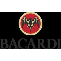 Autocollants  Bacardi