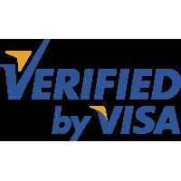 Autocollants Verified By Visa