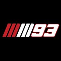 Autocollants Marc Marquez 93