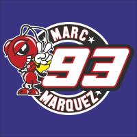 Autocollants Marc Marquez 93 1