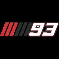 Autocollants 93 Marc Marquez