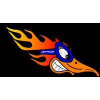 Autocollant Jet Ski Jet Pilot Bird