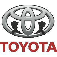 Autocollant Sexy Logo Toyota