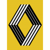 Autocollant Renault 1972
