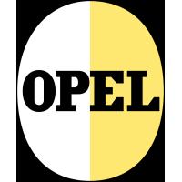Autocollant Opel 1950