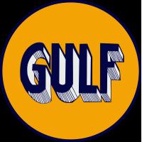 Autocollant Gulf 1920