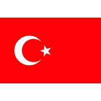 Autocollant Drapeau Turquie